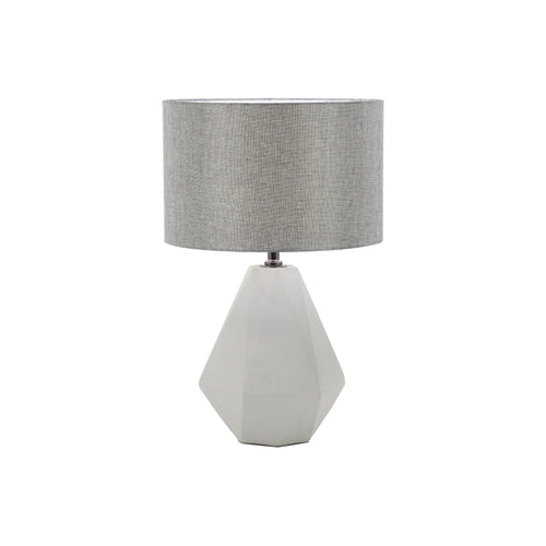 Concrete modern table lamp