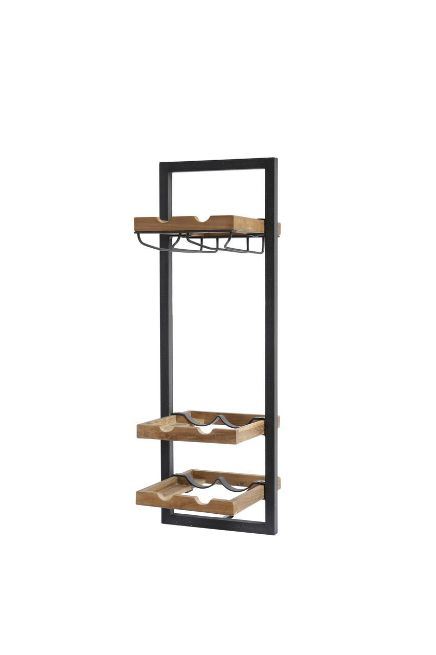 Picture of D-Bodhi Wine Rack - Type D (6 Bottles w/ Glass Holder)