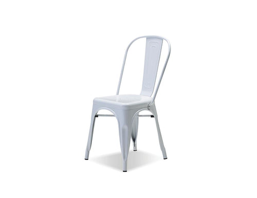 Metallica Dining Chair - White