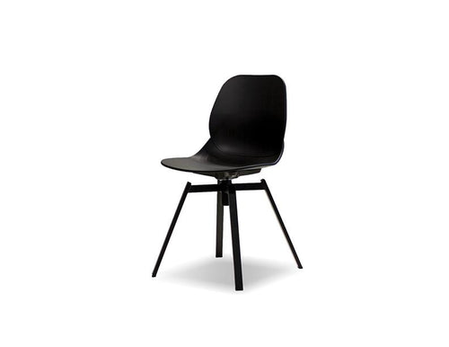 Petal Dining Chair - Black