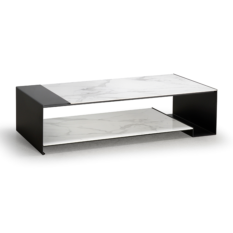 Side Table Wit.Duo Coffee Table