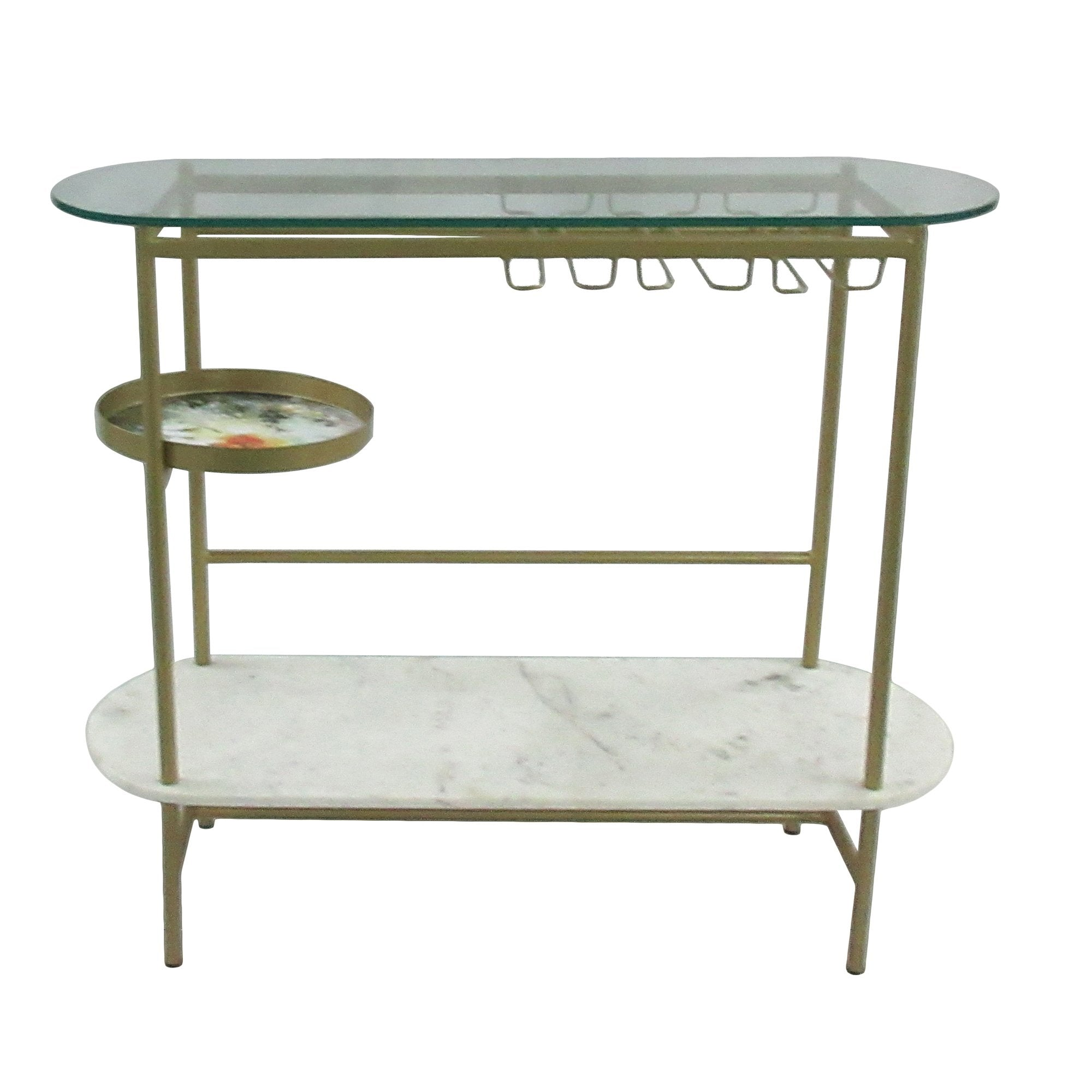 Picture of Earth Wind & Fire Oval Console Table