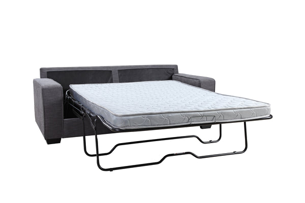 Modern Anthracite Grey Fabric Sofa Bed