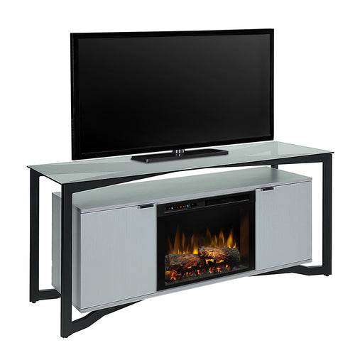 Christian Media Console Fireplace