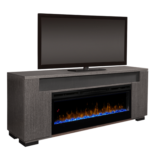 Haley Media Console Fireplace