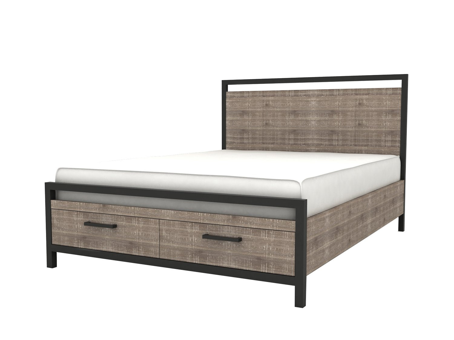 Picture of Irondale Queen Storage Bed with 2 Drawers