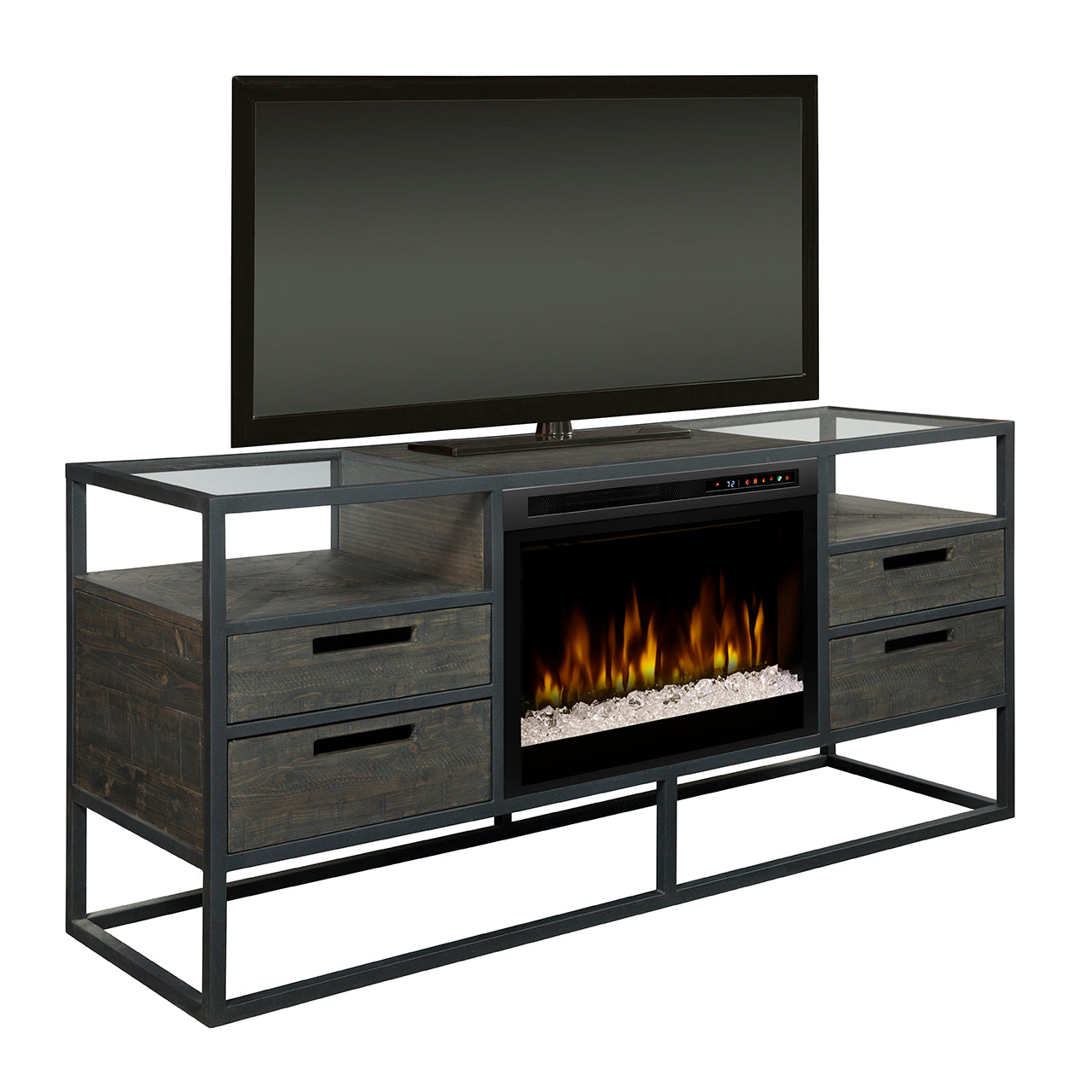 Picture of Ivan Media Console Fireplace