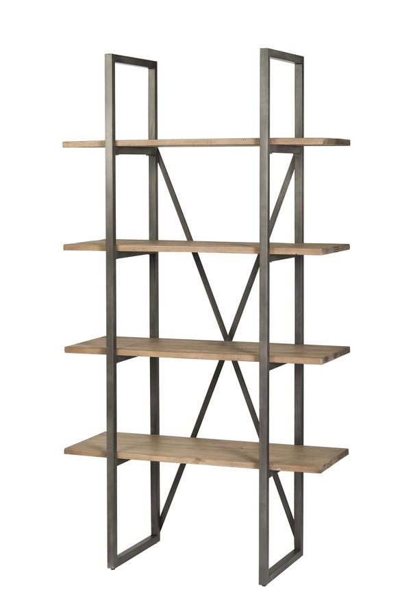 Kenya Small Cain Rack - Salvaged Grey