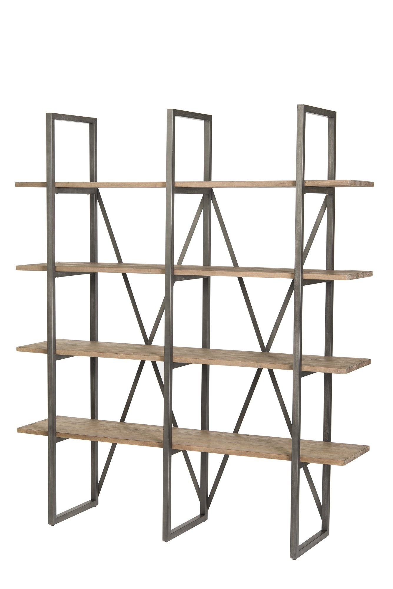 Picture of Kenya Large Cain Rack - Salvaged Grey