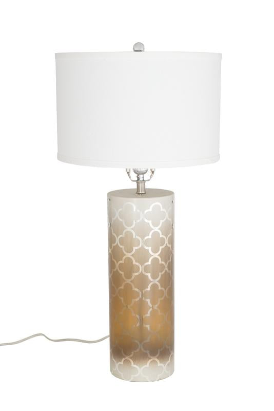 Cristina Table Lamp - Fleur De Lis (tri-light)