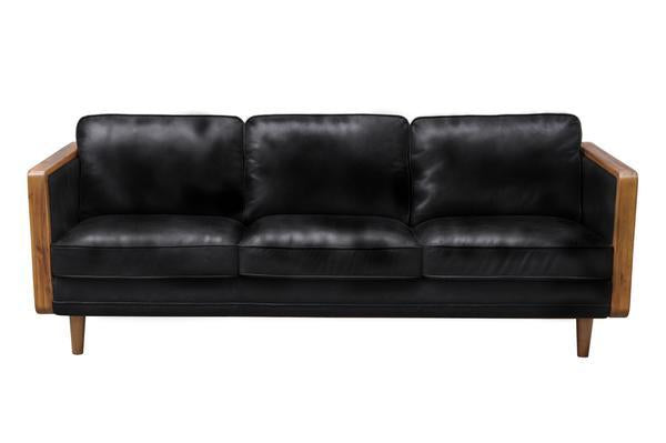 Picture of Las Vegas Mandalay Sofa - Oxford Black Leather
