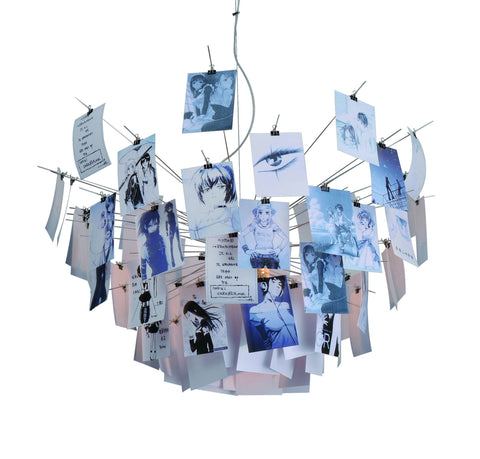 Collage modern hanging lamp