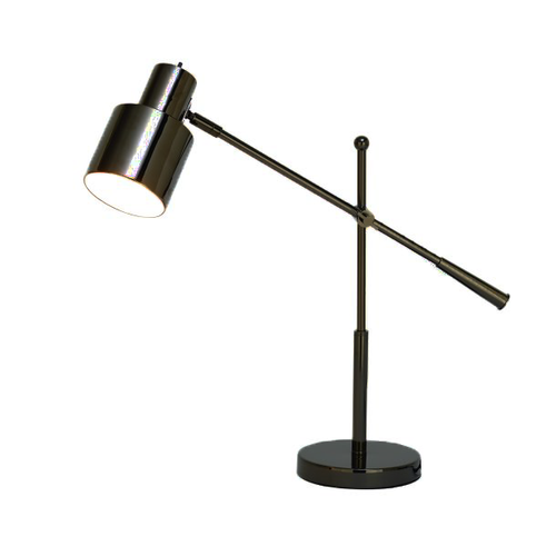Classic Modern Black Metal Table Lamp