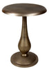 Metallo Pedestal End Table Small