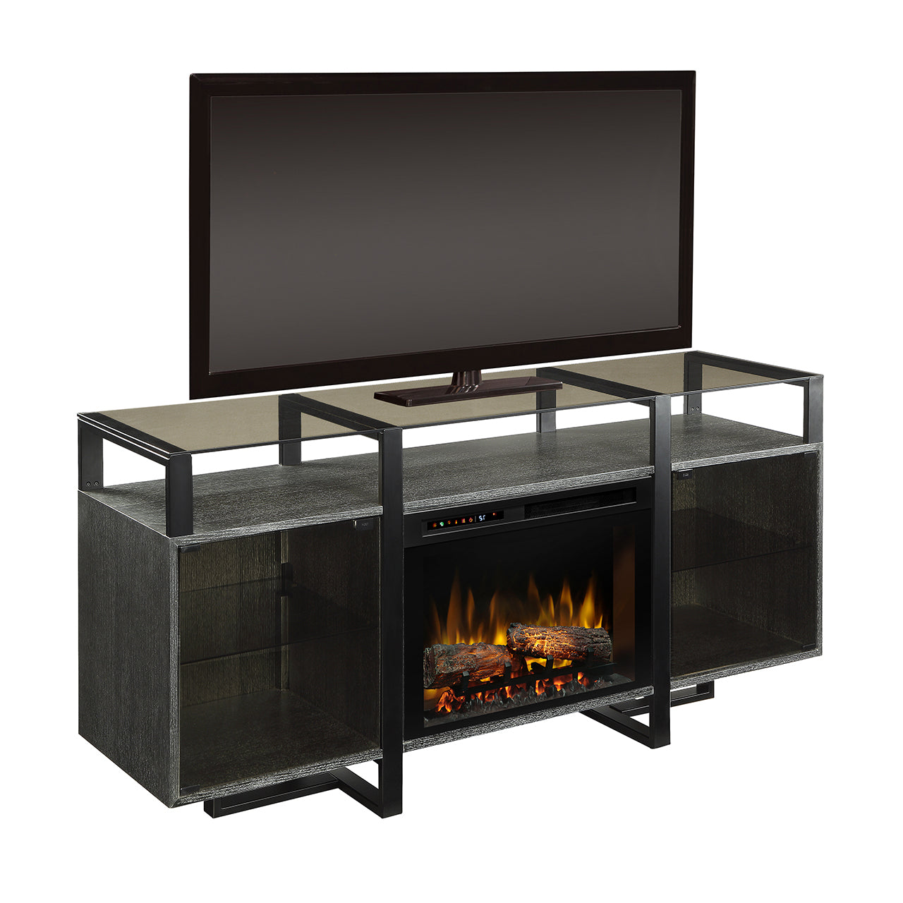 Picture of Milo Media Console Fireplace