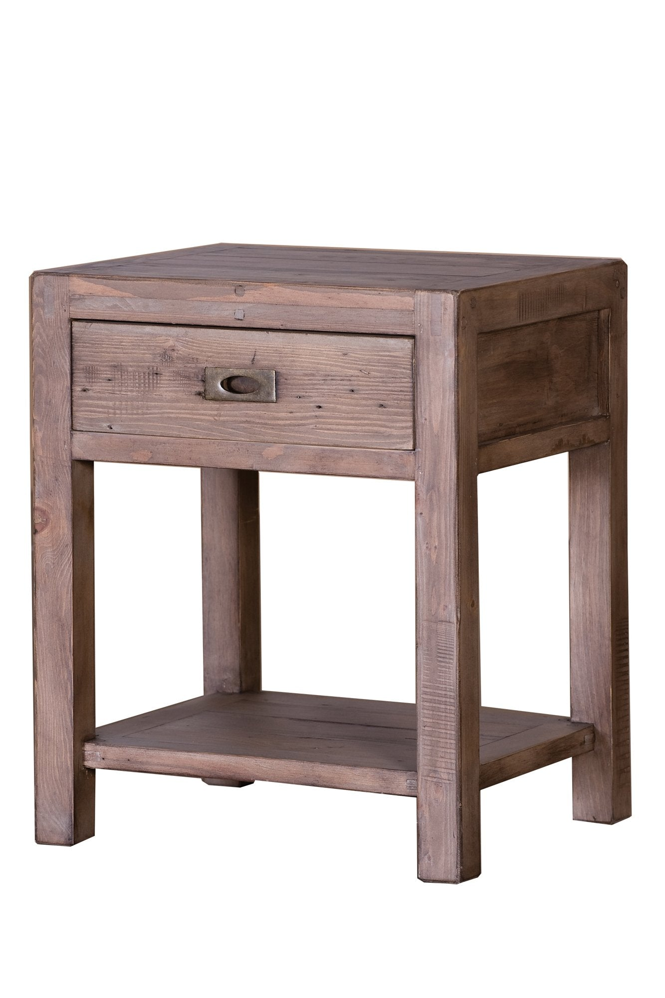 Picture of Post & Rail Side Table - Sundried