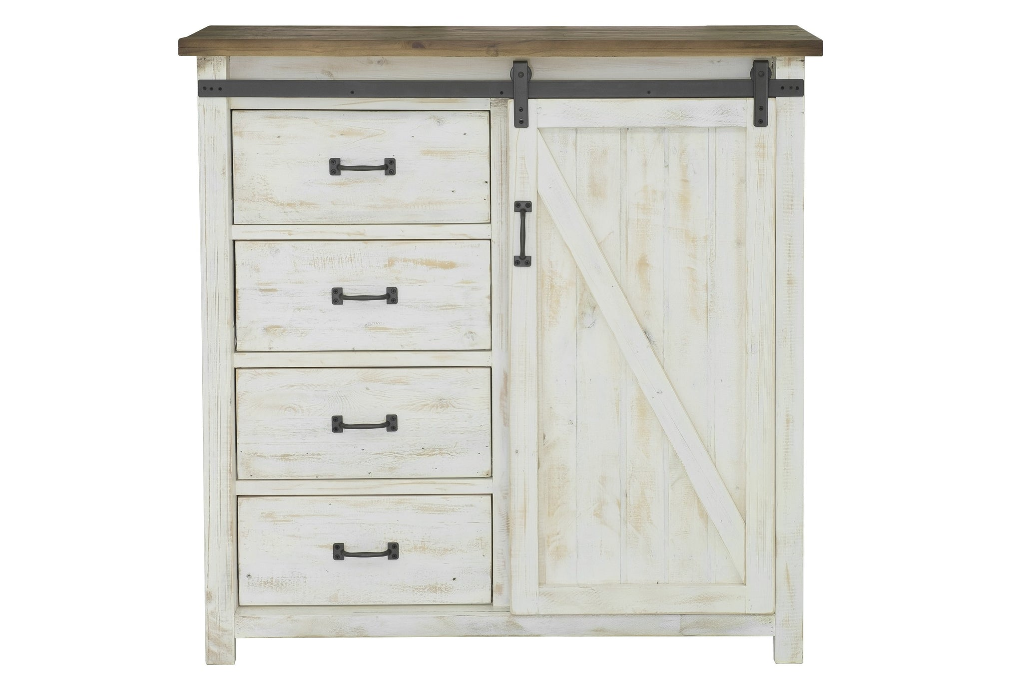 Picture of Provence 4 Drawer Chest With 1 Door
