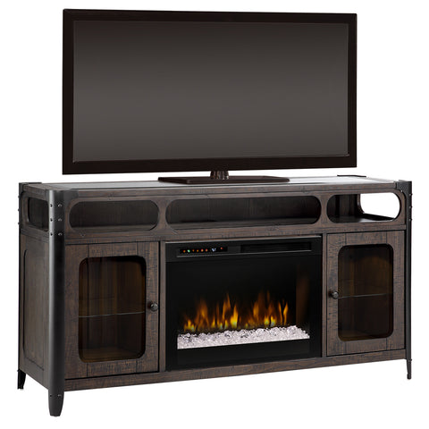 Paige Media Console Fireplace
