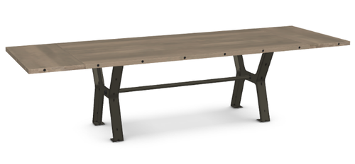 "Parade Dining Table - Solid Birch - 84"" w/ 2 Leaves"