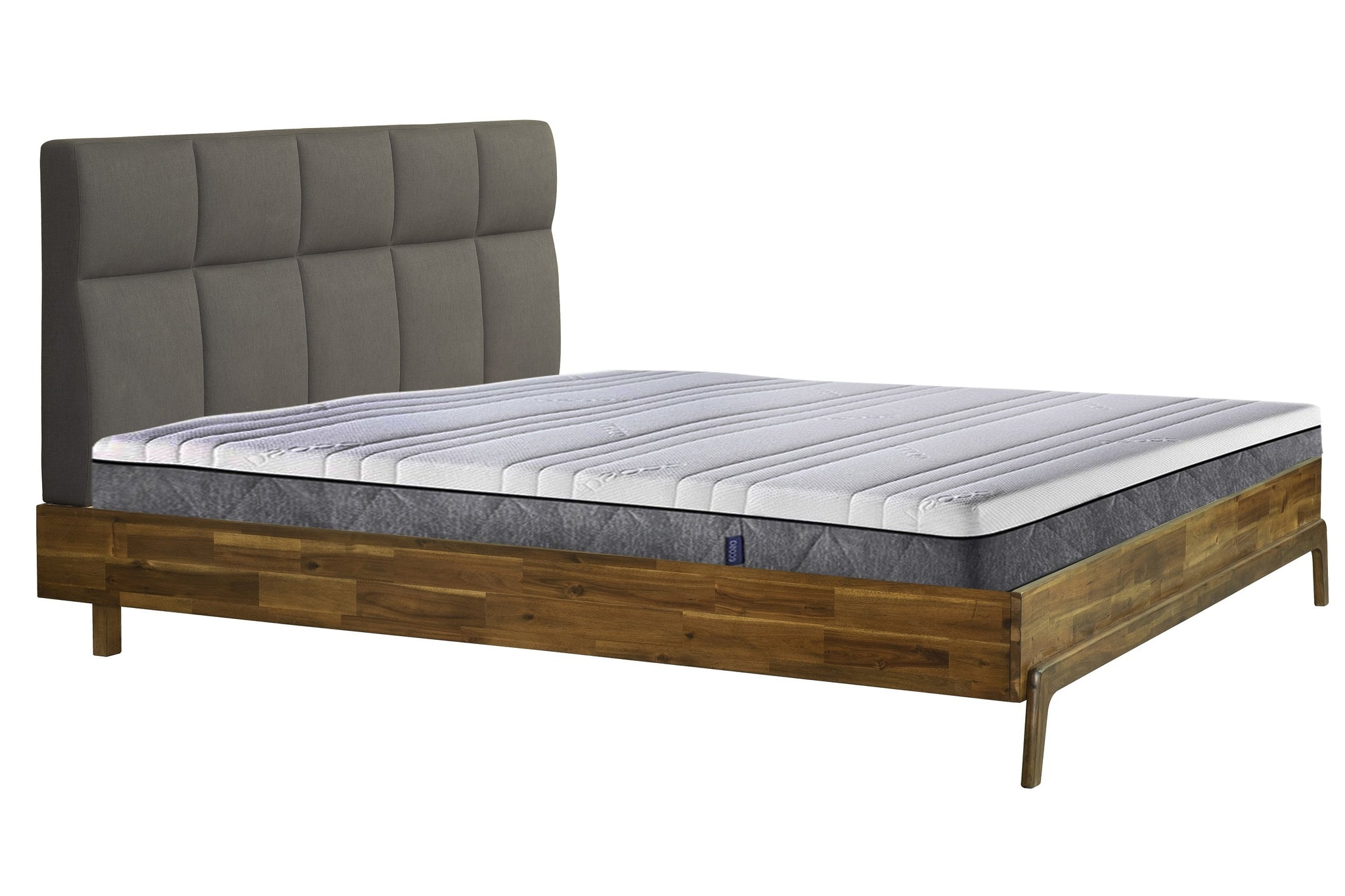 Picture of Remix King Bed - Headboard + Footboard - Grey