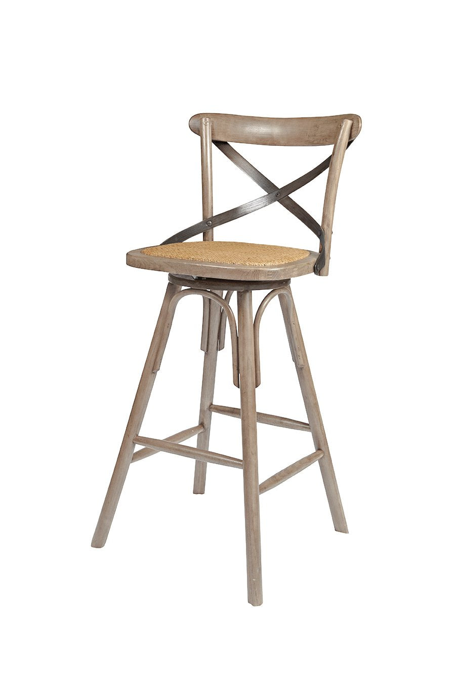 Picture of Crossback Counter Stool - Sundried (2/box)