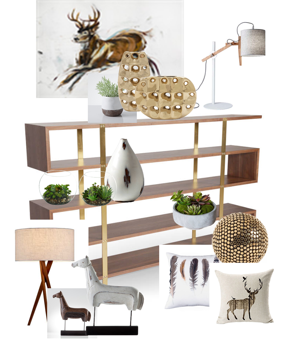 Picture of One Mod Shelf. Two Fab Looks: Organic