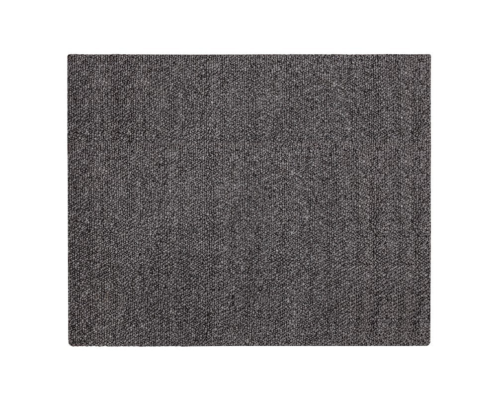 Picture of Umea Hand-Woven Rug - Black - 8x10