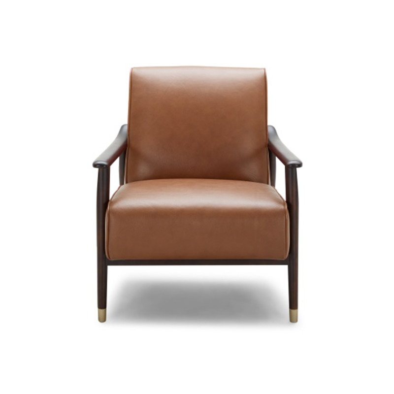 Picture of Vandika Arm Chair - Leather