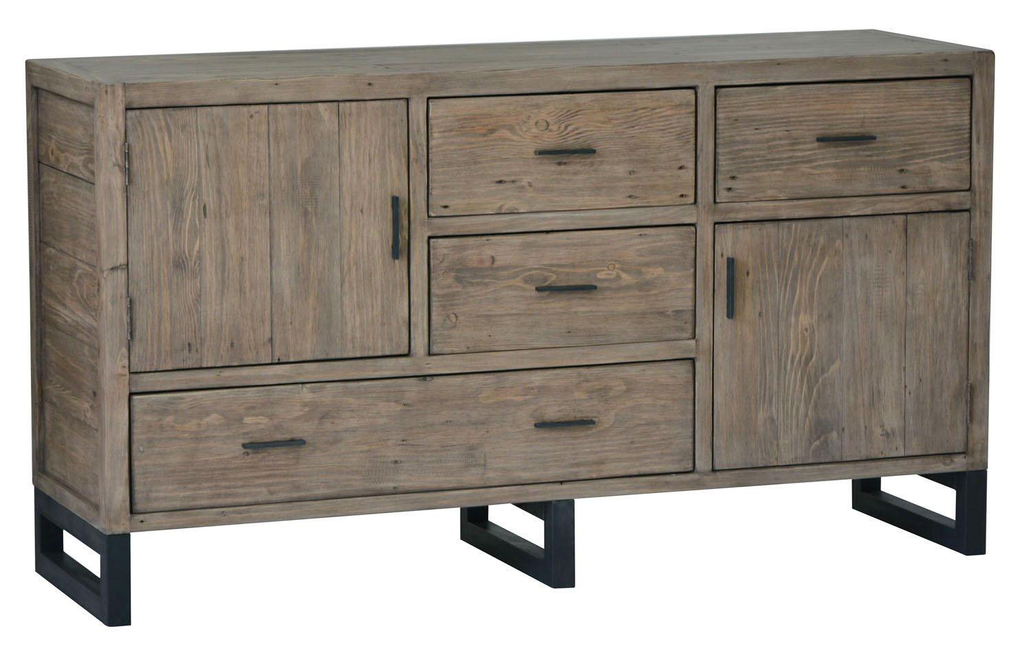 Picture of Wooden Forge Sideboard - Sundried