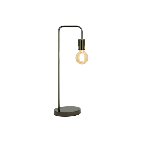 Black modern metal desk lamp