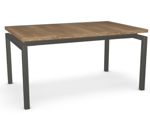 Zoom Extendible Dining Table - Birch (1 Leaf)