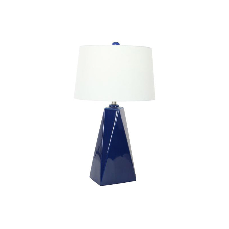 Picture of Navy Ceramic Lamp