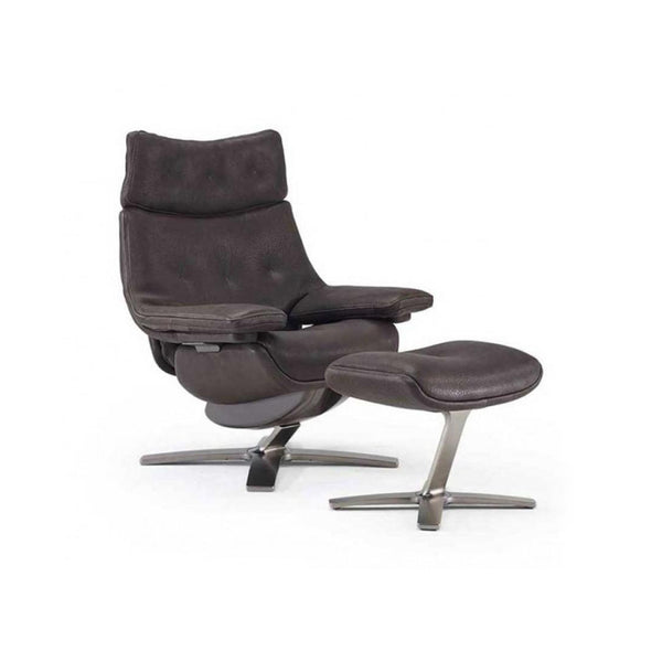 Club King Arm Chair and Ottoman