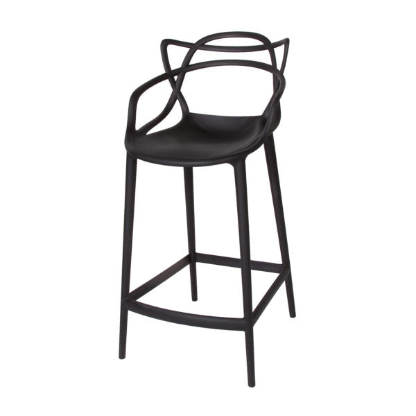 Picture of Crane Counter Stool - Matte Black