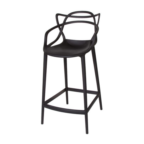 Crane Counter Stool - Matte Black