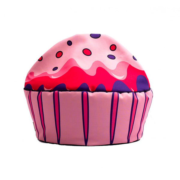 Pink Cupcake Kid's Bean Bag Chair