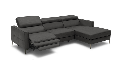 Dirac Reclining Fabric Sectional