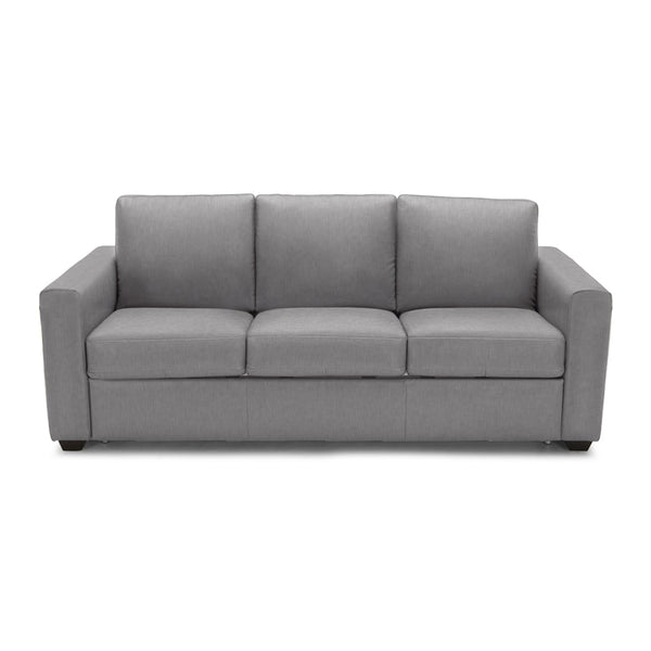 Pigeon grey modern fabric sofa bed