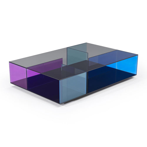 Labirinto Coffee Table Blue Fume