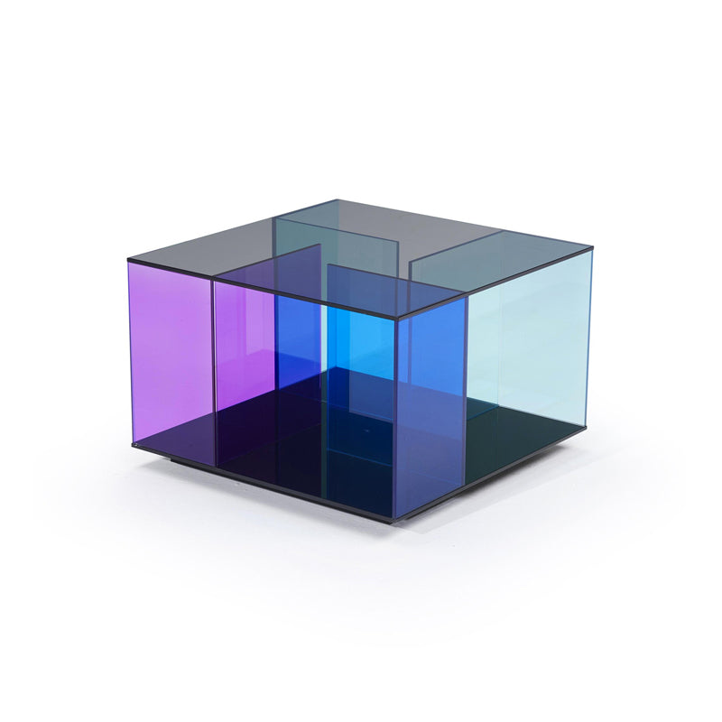 Picture of Labirinto End Table Blue Fume