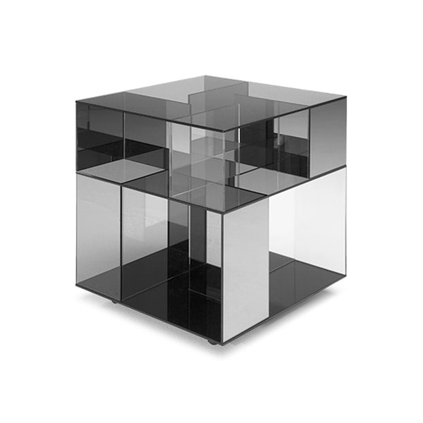 Labirinto End Table Crystal Tall