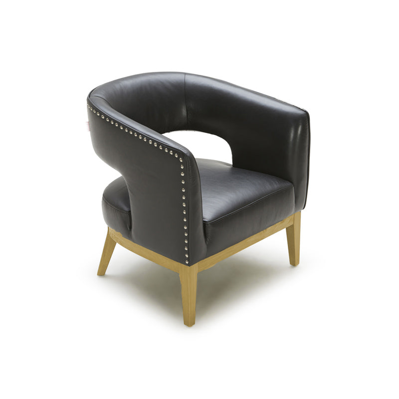 Picture of Lise Leather Arm Chair