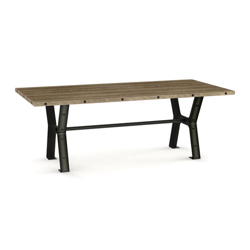 "Parade Dining Table - Distressed Birch - 72"" w/ 2 Leaves"
