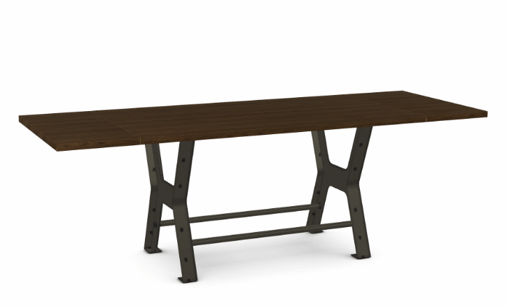 "Picture of Parade Counter Table - Solid Ash - 72"" w/ 2 Leaves"