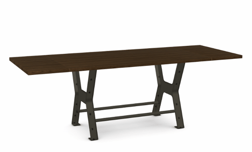 "Parade Counter Table - Solid Ash - 72"" w/ 2 Leaves"