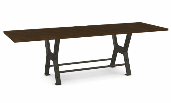 "Picture of Parade Counter Table - Solid Ash - 84"" w/ 2 Leaves"