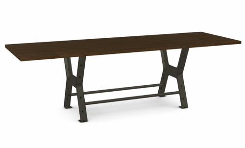 "Parade Counter Table - Solid Ash - 84"" w/ 2 Leaves"
