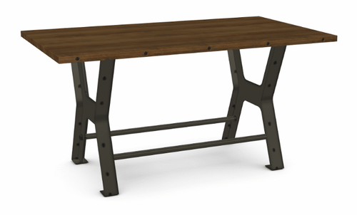 Parade Counter Table - Distressed Birch - 72""