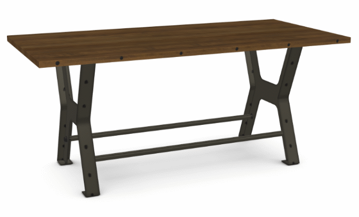 Picture of Parade Counter Table - Distressed Birch - 84""