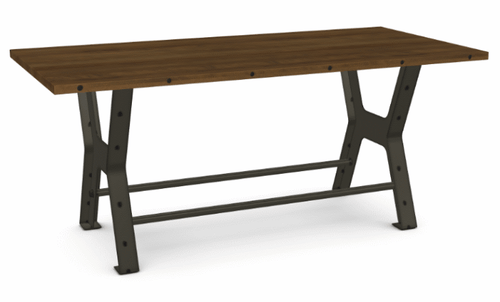 Parade Counter Table - Distressed Birch - 84""